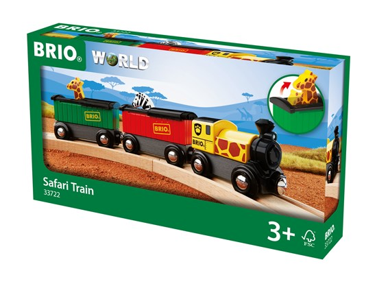 BRIO - 33722 | Safari Train Set
