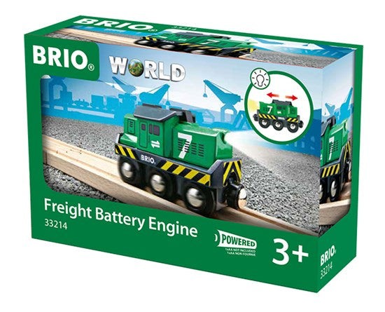 BRIO - 33214 | Freight Train Battery Engine