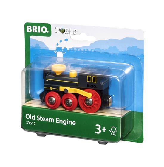 BRIO - 33617 | Old Steam Train Engine