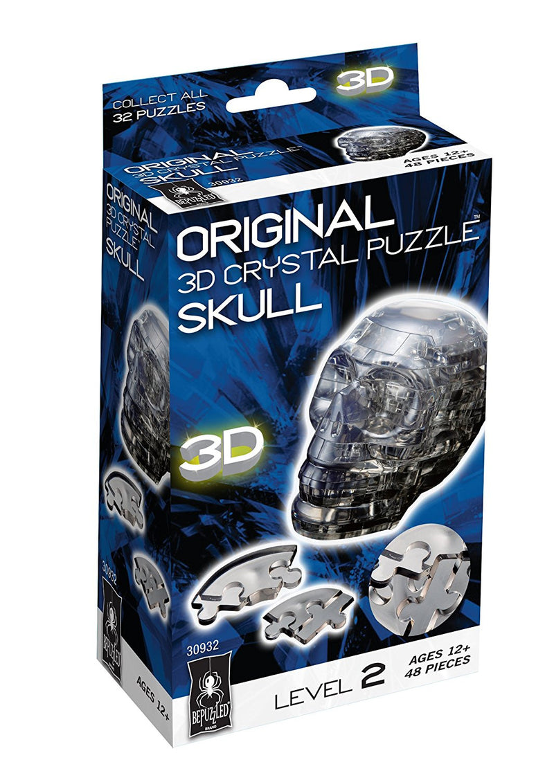 BePuzzled 3D Crystal Puzzle Level 2 Skull - 30932