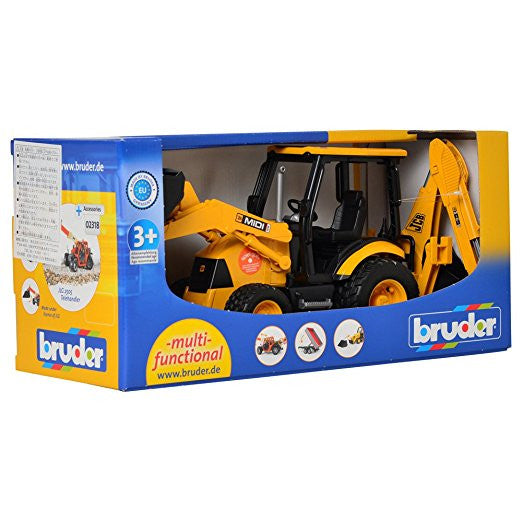 Bruder - 02427 | Construction: JCB MIDI CX Backhoe Loader