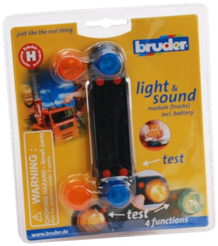Bruder - 02801 | Construction: Light And Sound Module For Trucks