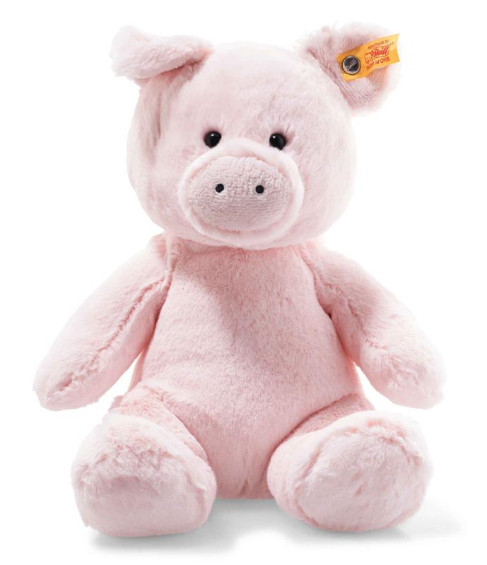 Soft Cuddly Friends: Oggie Pink Pig