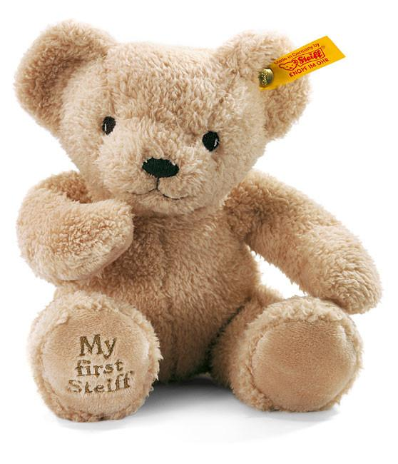 My First Steiff: Beige Teddy Bear