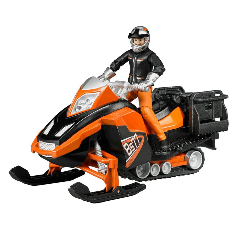 Bruder - 63101 | Leisure Time: Snowmobile With Driver And Accessories