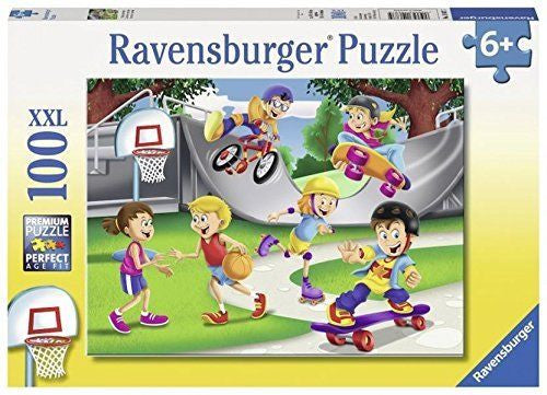 Ravensburger 100 Pieces Puzzle Skating Adventure - 10687