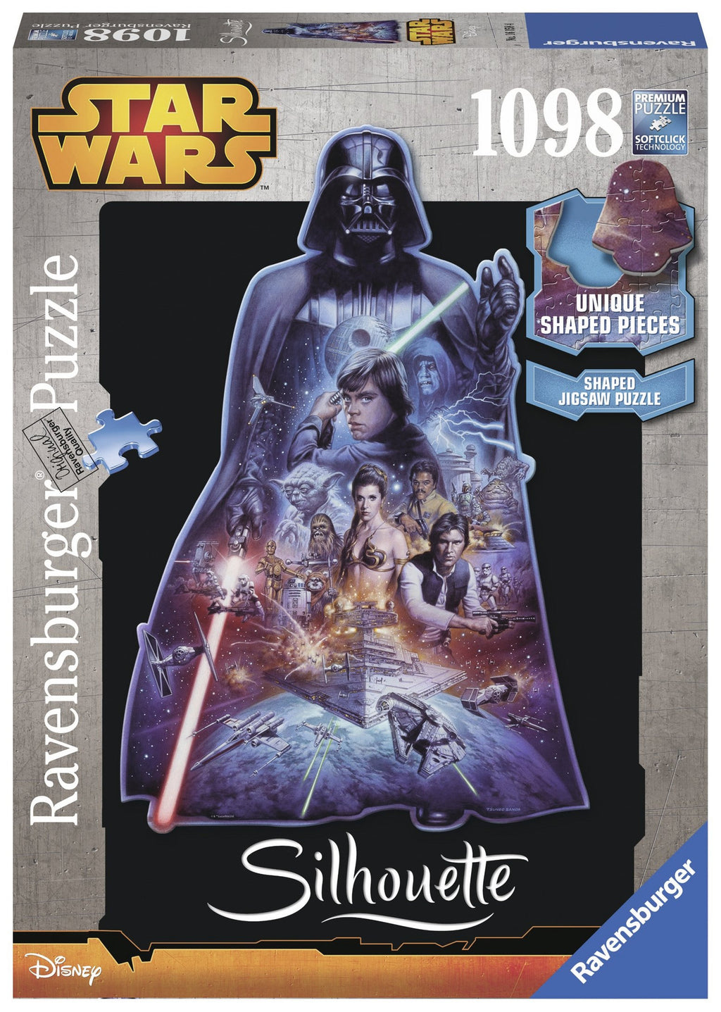 Ravensburger 1098 Pieces Puzzle Star Wars Darth Vader - 16158