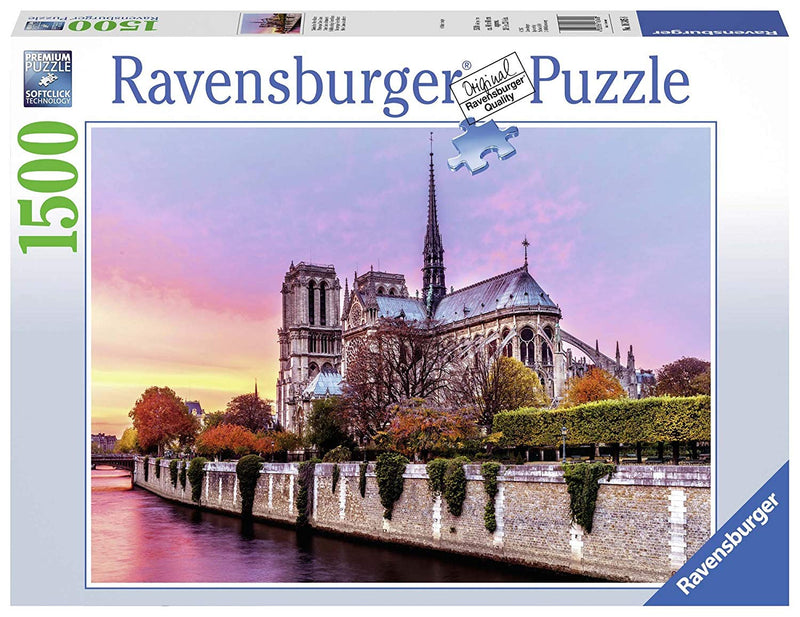 Ravensburger - 16345 | Picturesque Notre Dame 1500 piece Puzzle