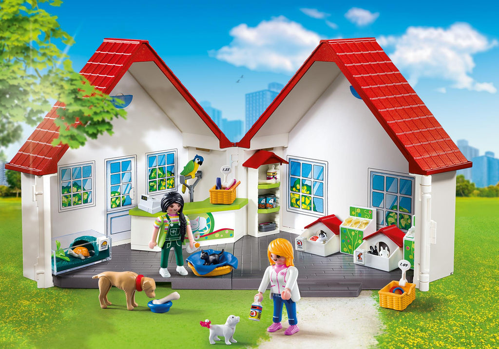 Playmobil Take Along Pet Store - 5672