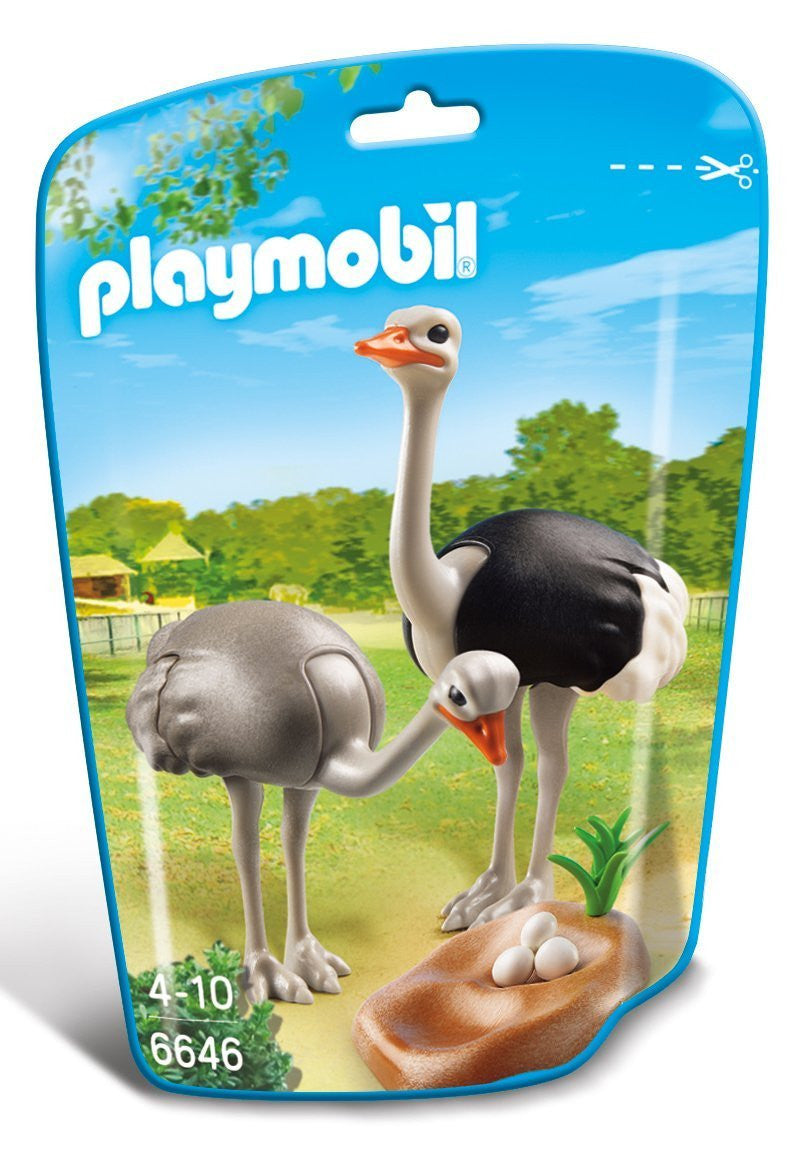Playmobil Ostriches With Nest - 6646