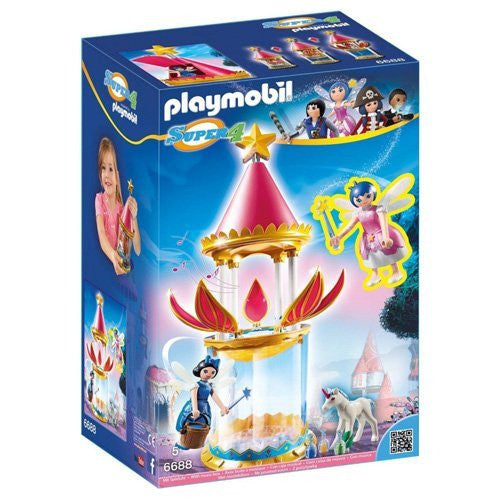 Playmobil - Super 4: Musical Flower Tower With Twinkle