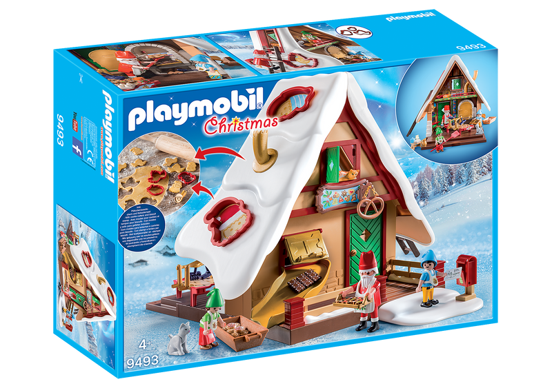 Playmobil - 9493 | Christmas: Bakery with Biscuit Cookie Cutters