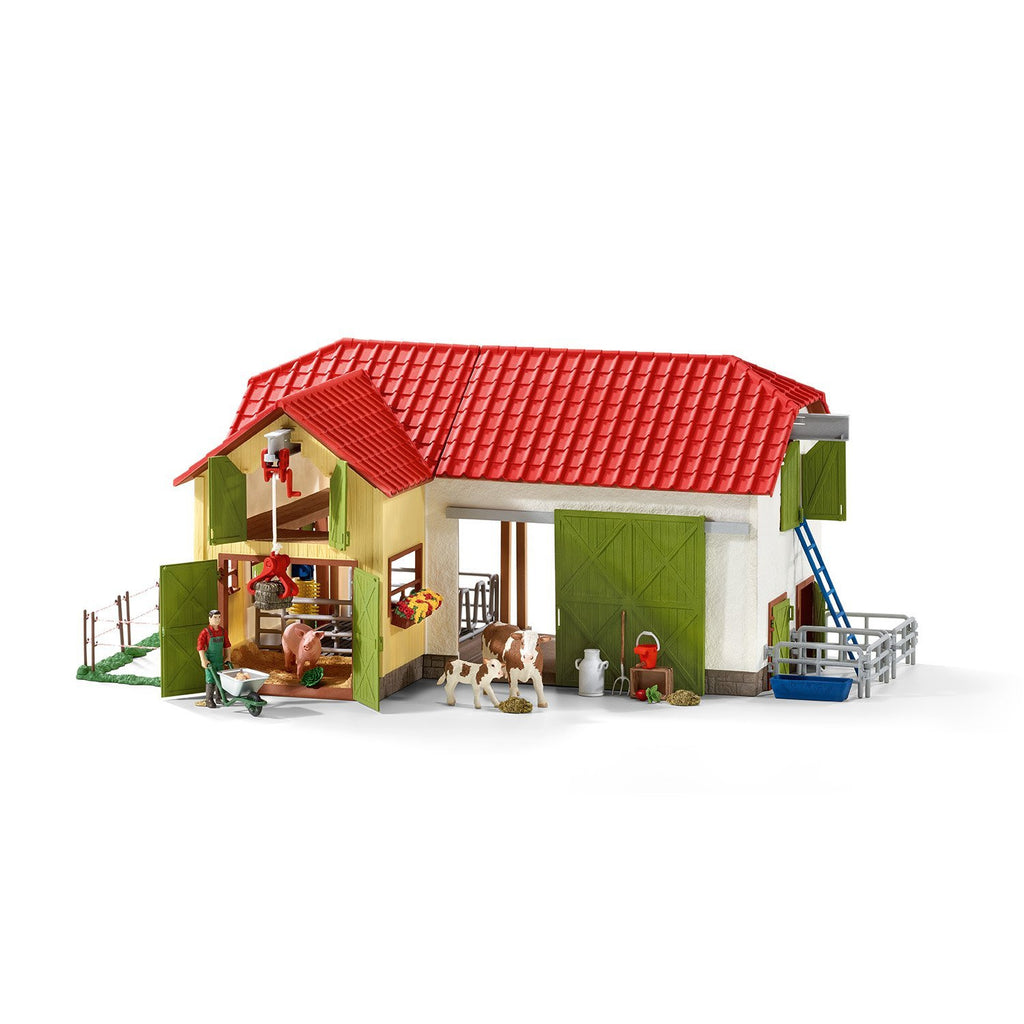 Schleich Large Farm With Animals & Accessories - 42333