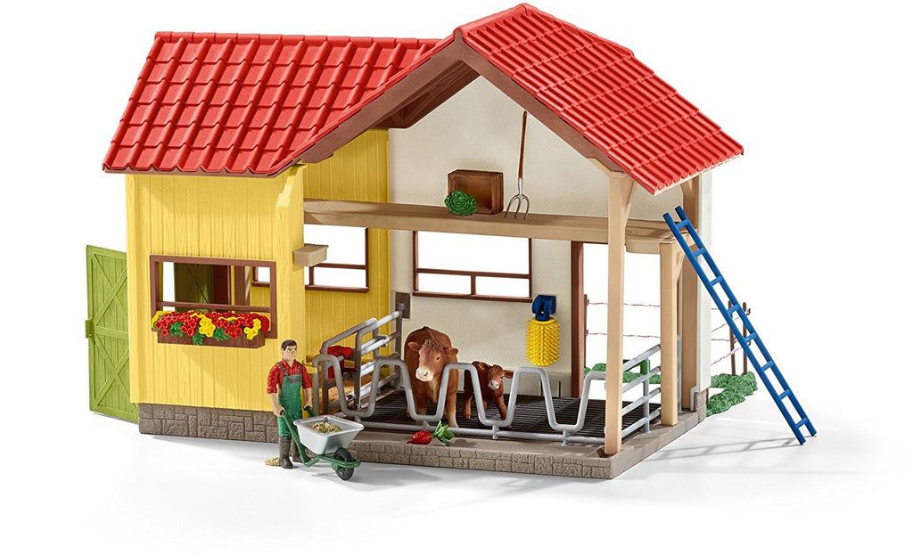 Schleich Farm With Animals And Accessories - 42334