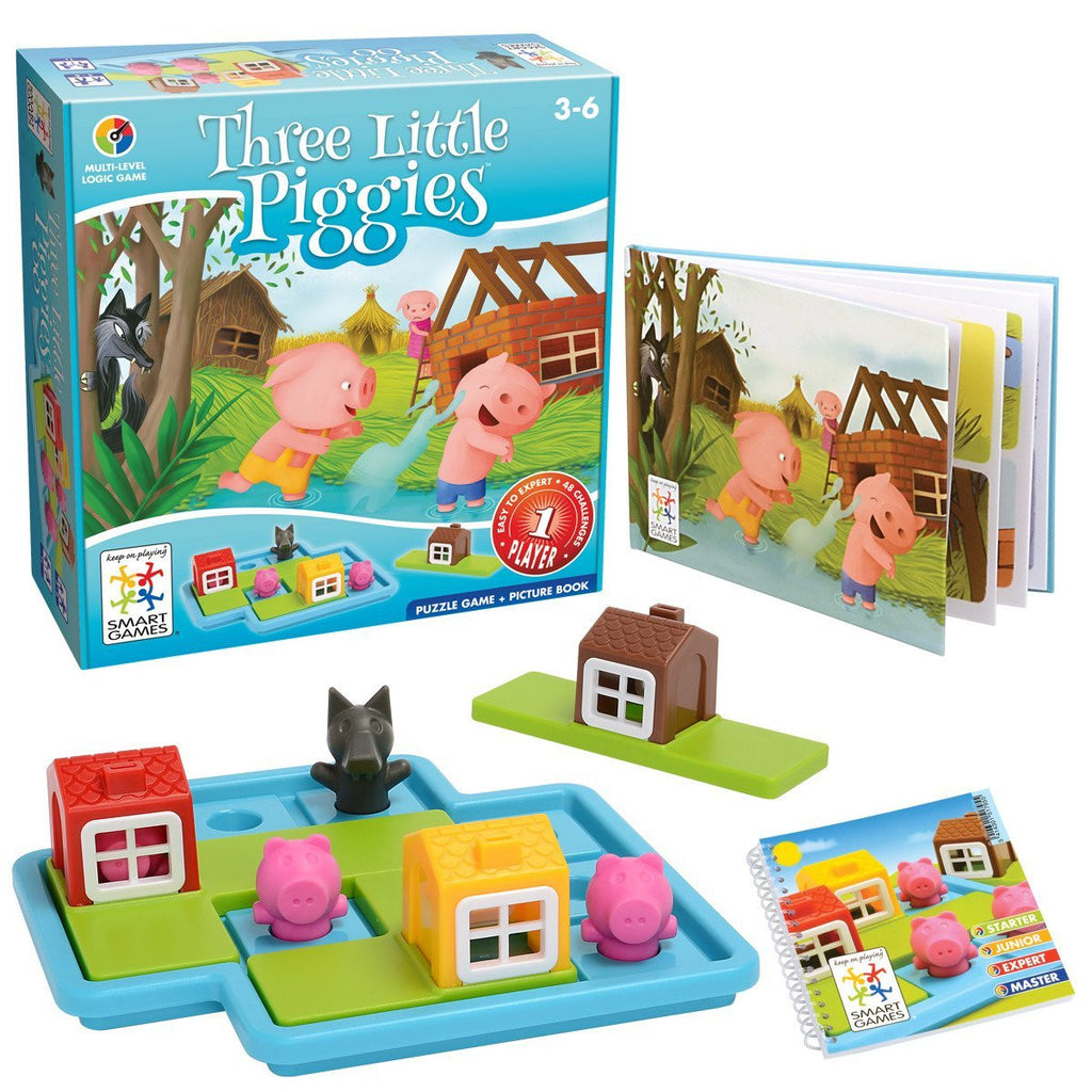 Smart Games 3 Little Piggies Game Deluxe
