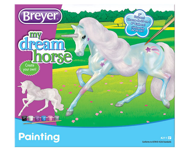 Breyer - 4211 | My Dream Horse: Paint Your Own - Unicorn