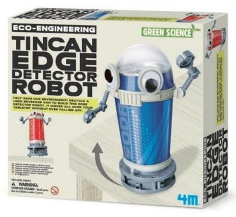 4M Green Science Eco-Engineering Tin Can Edge Detector Robot - P3370