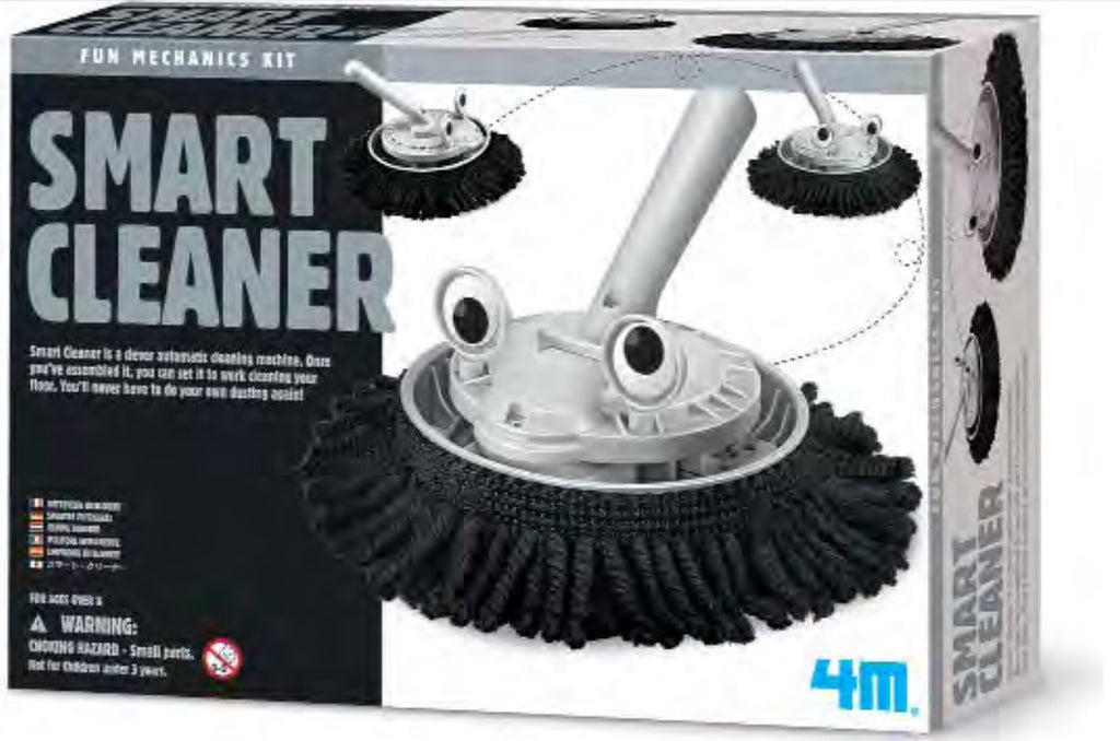 4M Fun Mechanics Kit Smart Cleaner Robot - P3380