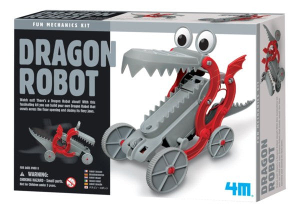 4M Fun Mechanics Kit Dragon Robot - P3381