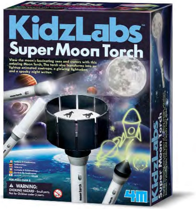 4M KidzLabs Super Moon Torch - P3384