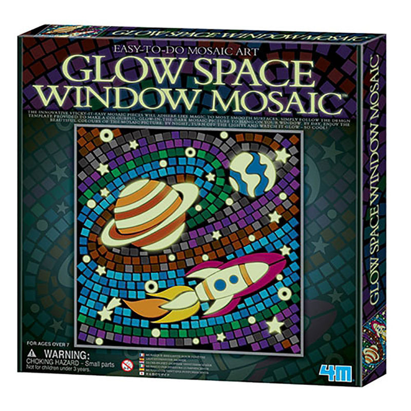 4M Easy-To-Do Mosaic Art Glow Space Window Mosaic - P4651