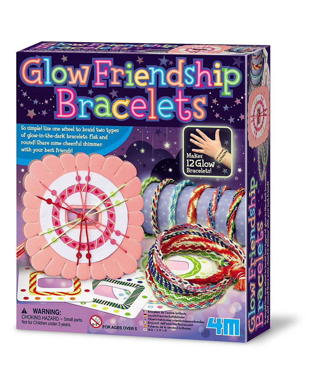 4M Glow Friendship Bracelets Kit - P4662