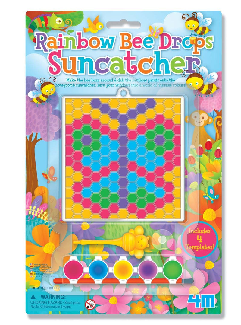 4M - P4677 | Rainbow Bee Drop Suncatcher