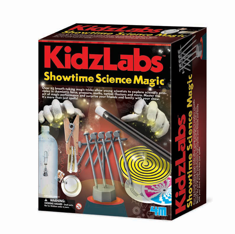 4M KidzLabs Showtime Science Magic - P5530