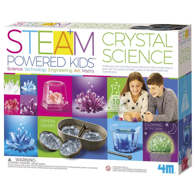 4M - 5534 | Crystal Science - STEAM Kids