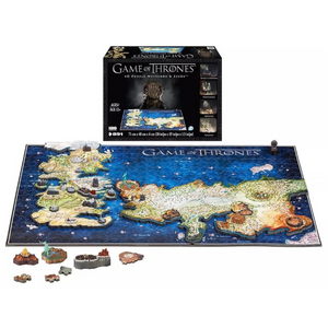 4D Cityscape - 51001 | Game of Thrones: Puzzle of Westeros