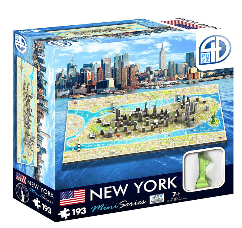 4D Cityscape - 70000 | New York Mini 4D Puzzle