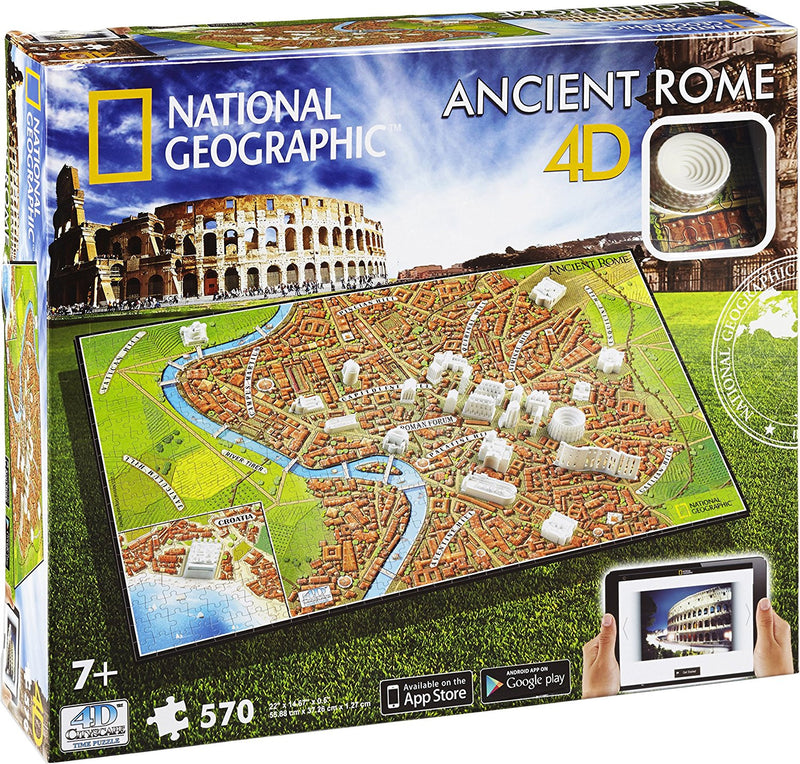 4D Cityscape NG Ancient Rome