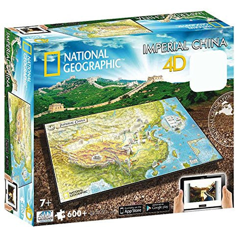 4D Cityscape - 61006 | National Geographic: Imperial China Time Puzzle