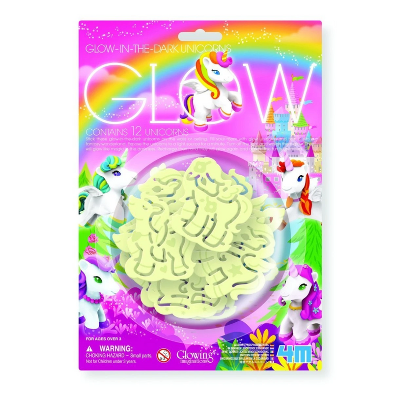 4M - 00-05939 | Glow: Glow-In-The-Dark Unicorns
