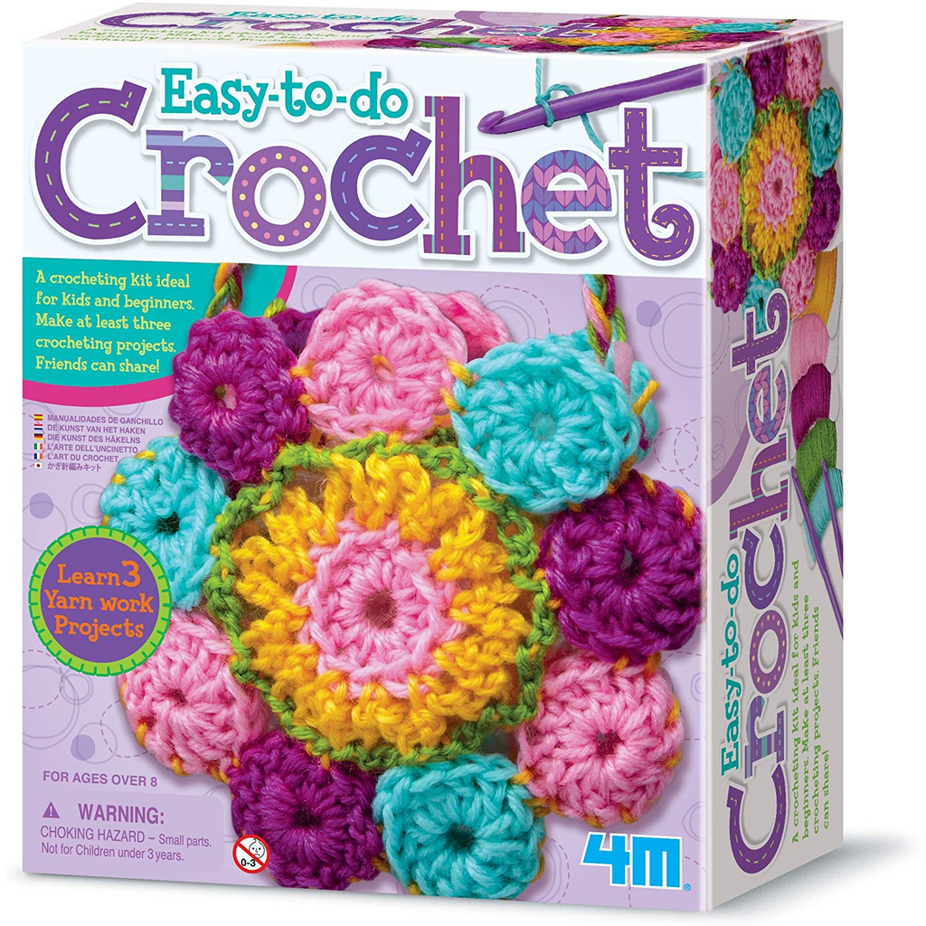 4M - 2737 | Easy-to-do Crochet Art