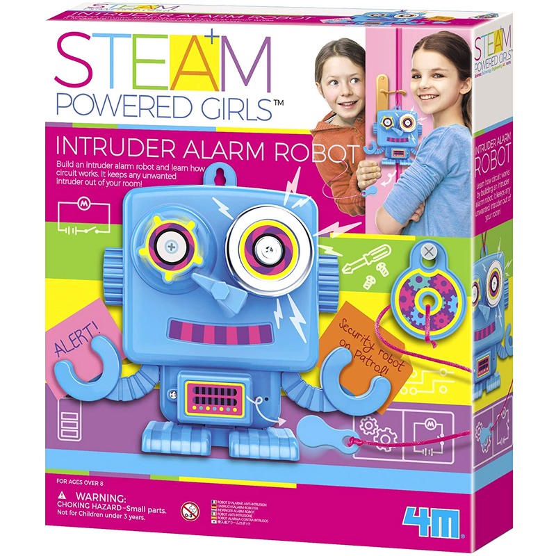 4M - 4900 | STEAM Powered Girls: Intruder Alarm Robot