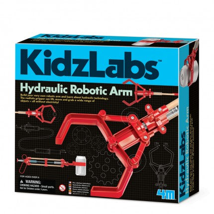 4M - 3414 | Kidz Labz: Hydraulic Arm Science and Engineering Kit
