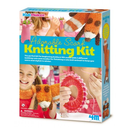 4M - 4722 | Scarf Knitting Set