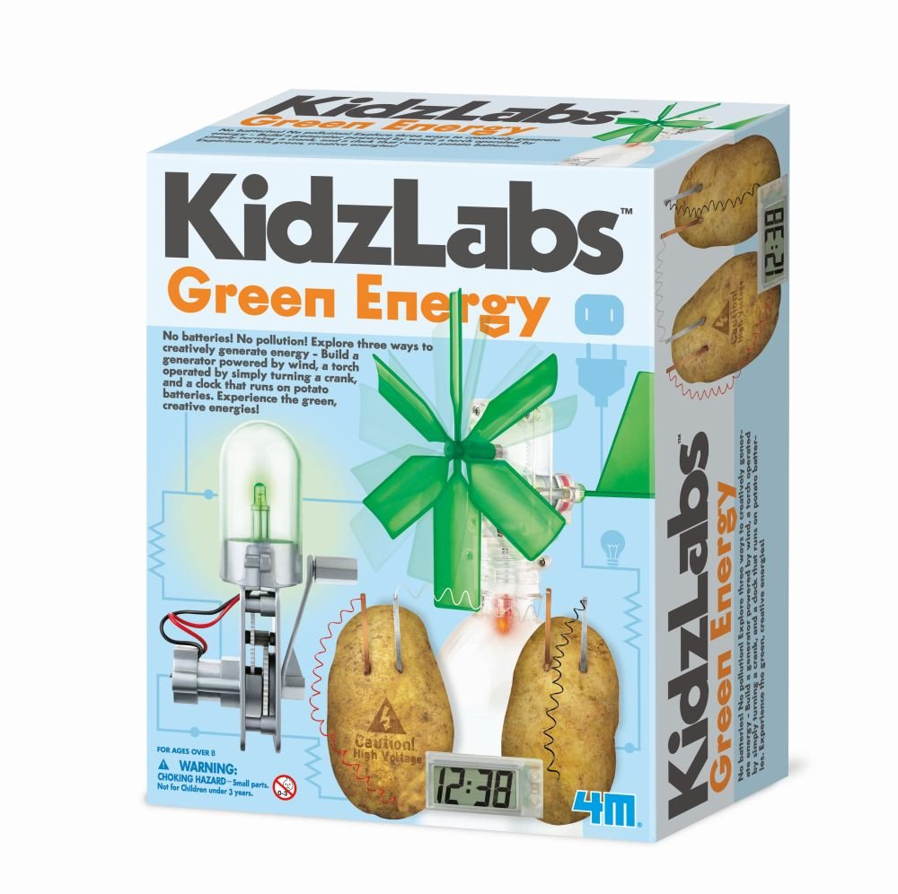 4M - 5531 | Kidz Labs: Green Energy