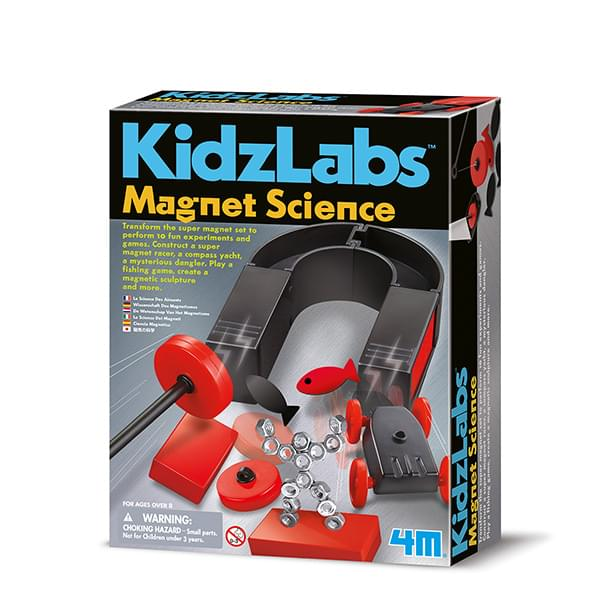 4M - P3291 | KidzLabs: Magnet Science Kit
