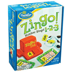 ThinkFun - Zingo 1-2-3 Number Bingo