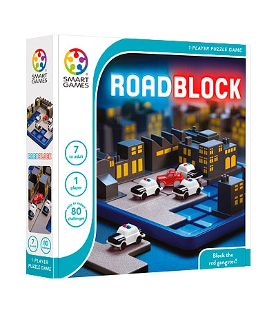 Smart Games - 513469 | Roadblock Educational Logic Puzzle Game