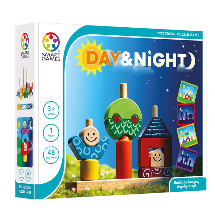Smart Games - 518723 | Day & Night Educational Puzzle Game