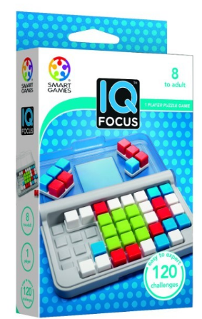 Smart Games - SG 422 | IQ Focus - Educational Logic Game Puzzle - 120 Challenges