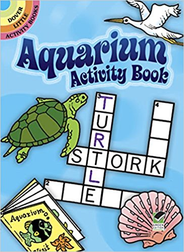 Dover Storybooks - 412555 | Aquarium Activity Book (By: Suzanne Ross)