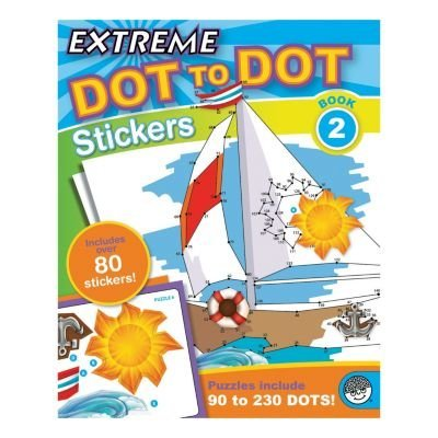 MindWare - MB-62013 | Extreme Dot to Dot Stickers: Book 2