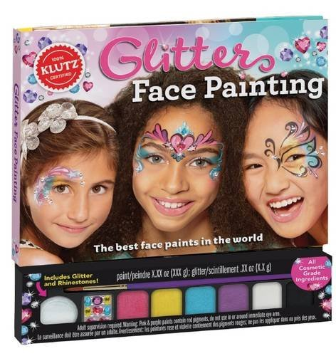 KLUTZ GLITTER FACE PAINTING Castle toys