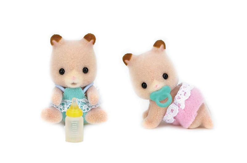 Calico Critters - CC1491 | Fluffy Hamster Twins
