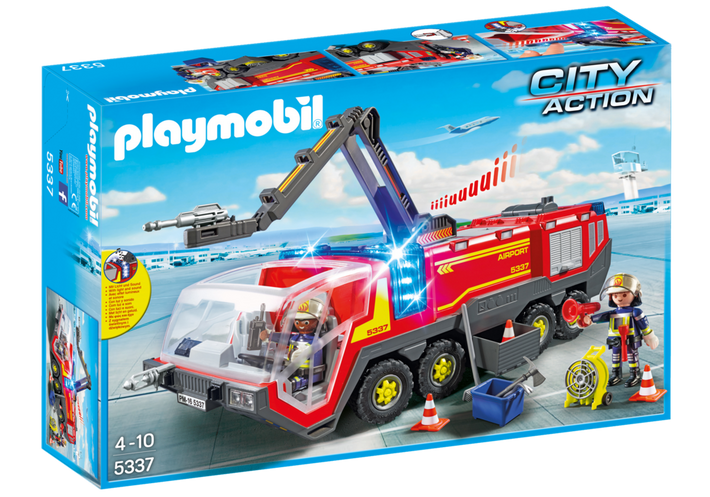 Playmobil - Airport Fire Engine 5337