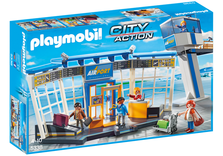 Playmobil - Airport With Control Tower 5538